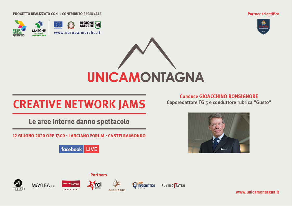 Diretta: UnicaMontagna – Creative Network Jams